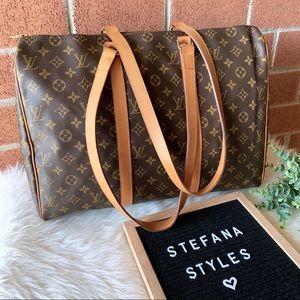 Louis Vuitton Flanerie Sac 45 Top Zip Shoulder Bag
